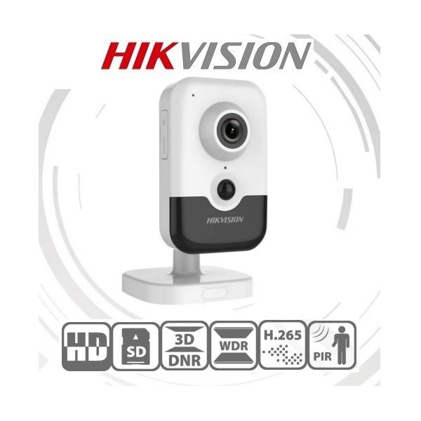Hikvision IP csempekamera - DS-2CD2443G0-IW (4MP, 2,8mm, beltéri, H265+, IR10m, ICR, WDR, 3DNR, PoE, SD, audio, wifi)